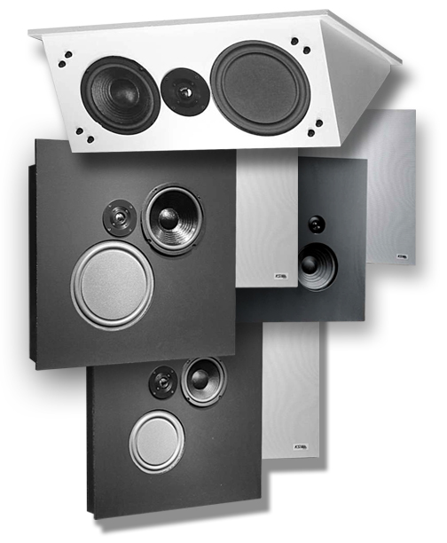 Click Here To See KSI Ceiling Speakers That Mount Flat In The Grid